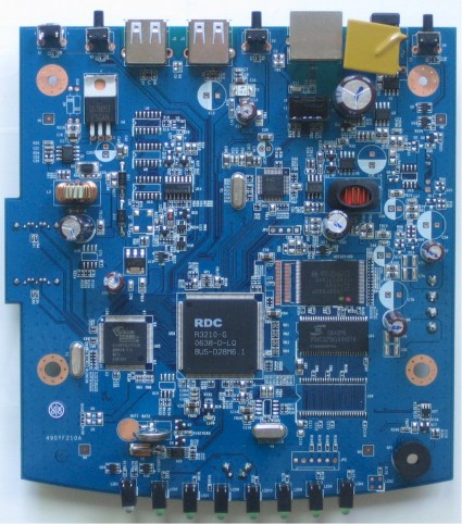 NAS200 main board top
