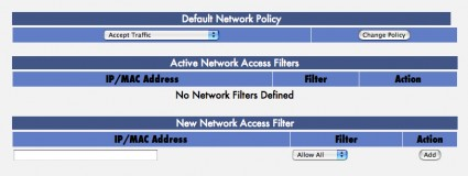 Network Policy / Access Filters