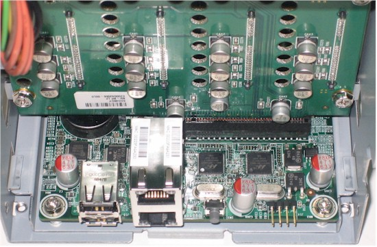 Partial NVX board view