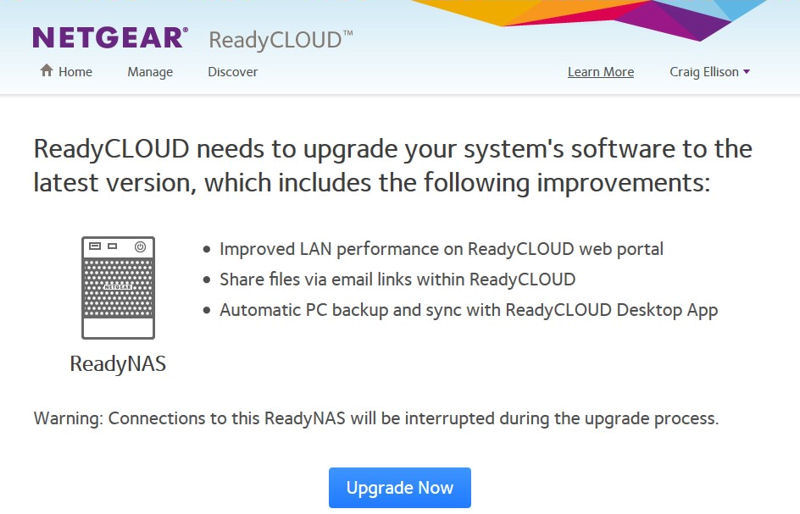 NETGEAR ReadyNAS OS 6 2 Reviewed - SmallNetBuilder