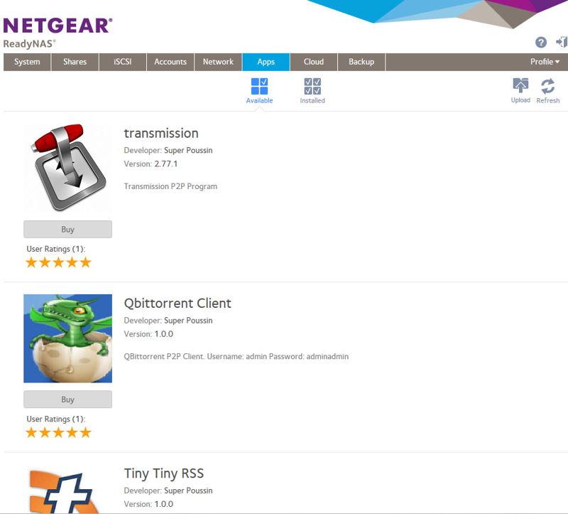 NETGEAR ReadyNAS OS6 Reviewed - SmallNetBuilder - Results