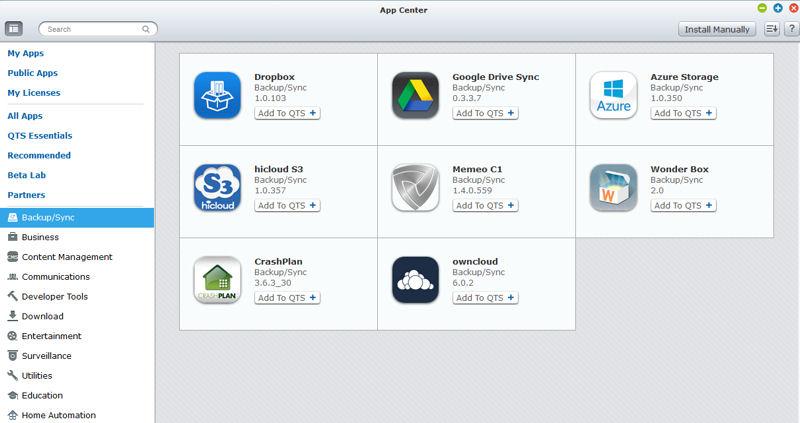 QNAP QTS 4 1 Reviewed - SmallNetBuilder - Results from #1