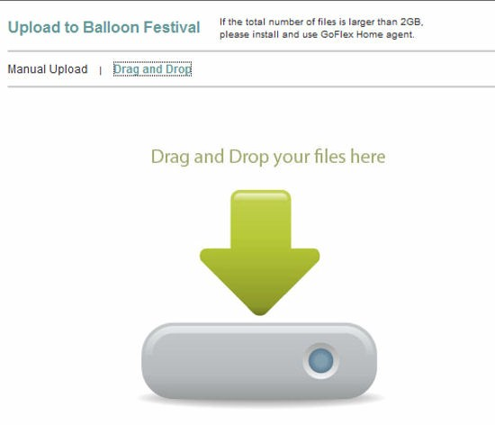 Drag N Drop file upload control