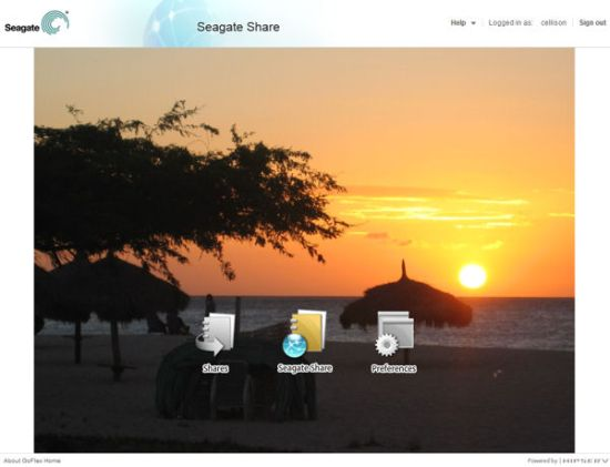 Seagate Share Home