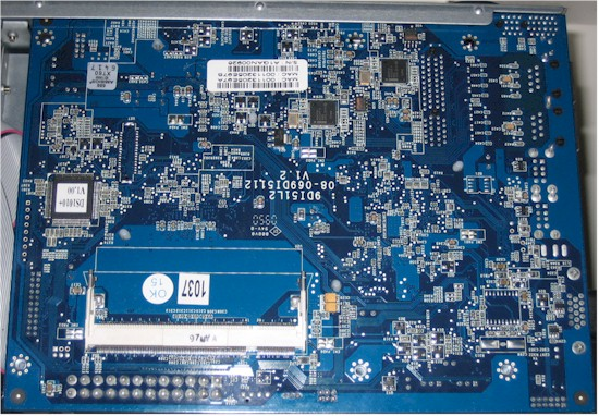 DS1010+ board bottom