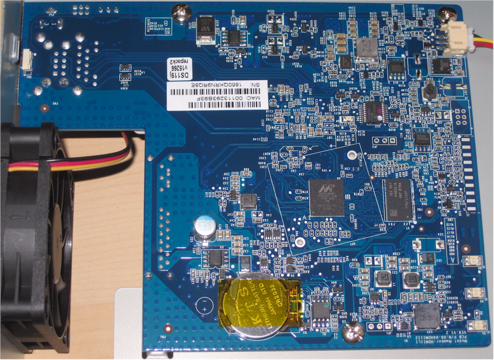 Synology DS119j board