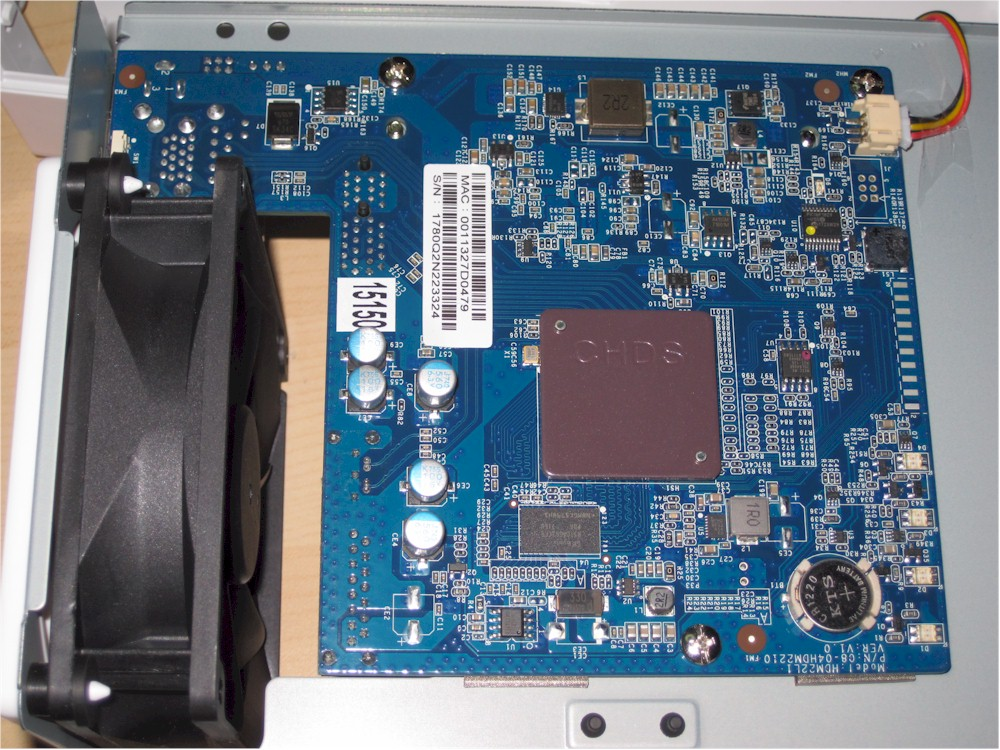 Synology DS218j board