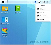Synology DSM 5.0 desktop