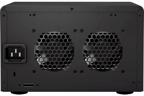 Synology DX510 back panel