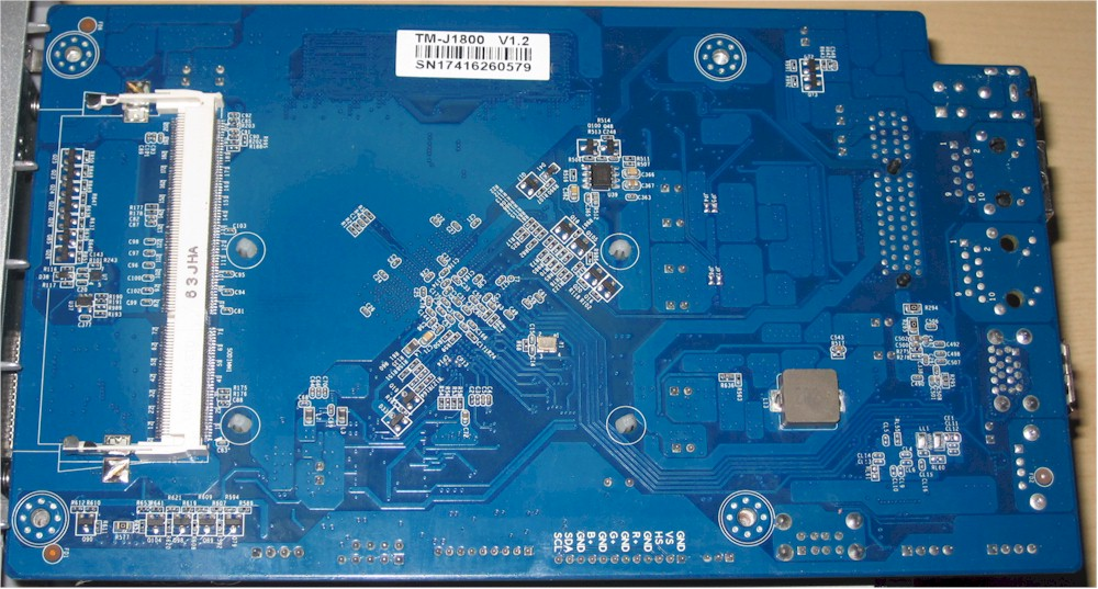 TerraMaster F2-220 board - bottom view