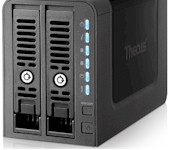 Thecus N2350 Home/SOHO NAS Reviewed - Click for review