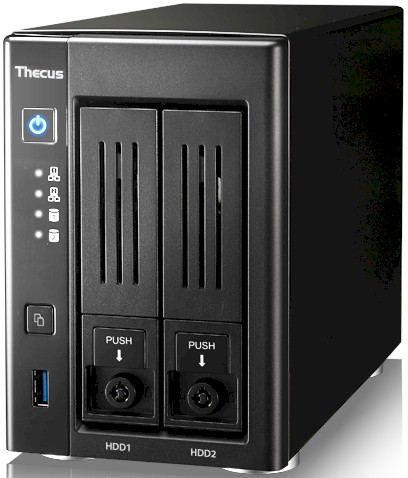 Thecus N2810 NAS Reviewed - SmallNetBuilder