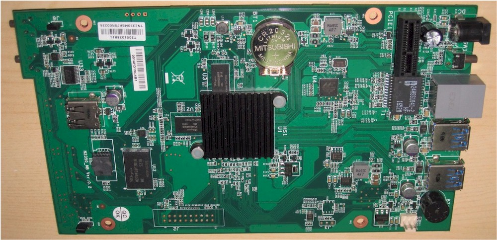 Thecus N2350 board