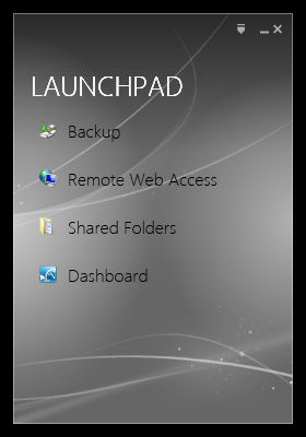 Launchpad used by clients