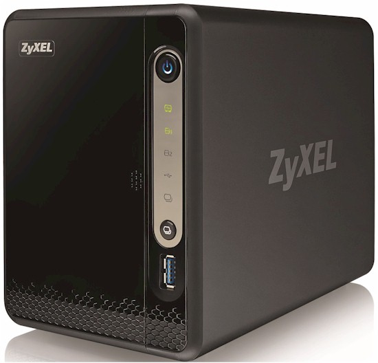 ZyXEL NSA325 V2 2-Bay Power Plus Media Server