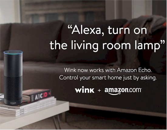 Amazon Echo with Wink