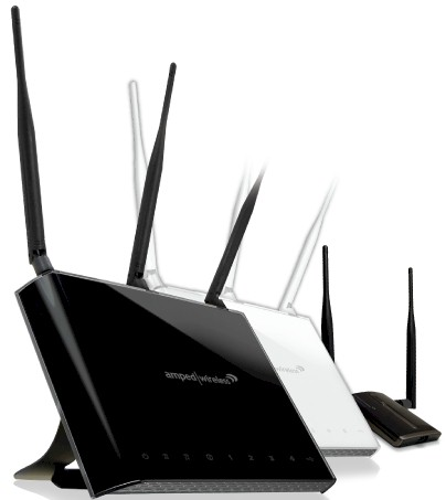 Amped Wireless draft 802.11ac products