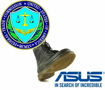 FTC stomps ASUS