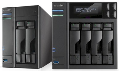 ASUSTOR Announces Celeron Two, Four Bay NASes