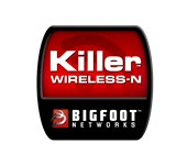 Bigfoot Networks Killer Wireless-N logo
