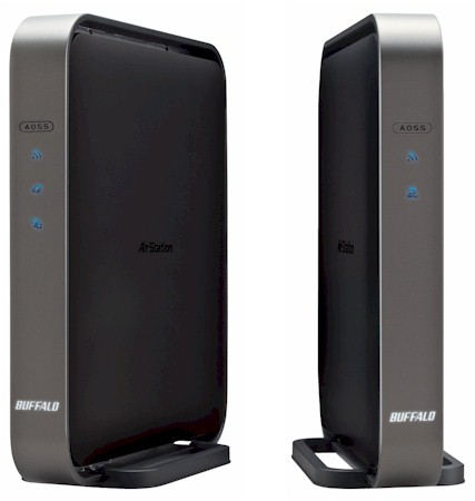 Buffalo WZR-D1800H router and WLI-H4-D1300 bridge