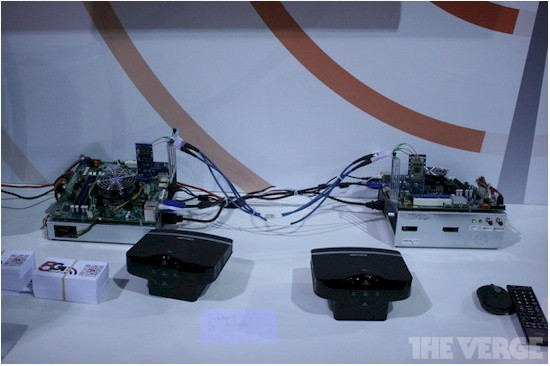 Buffalo 802.11ac demo setup (Photo credit - TheVerge.com)
