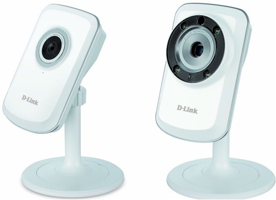 D-Link DCS-931L and DCS-933L Cloud cameras