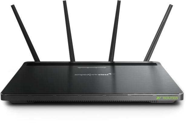 Amped Wireless ATHENA-R2 High Power AC2600 Wi-Fi Router with Advanced MU-MIMO