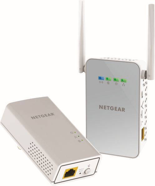 NETGEAR PLW1000 PowerLINE WiFi 1000 Adapter Kit