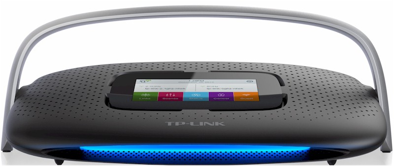 TP-LINK SR20 Smart Home Router with Touchscreen