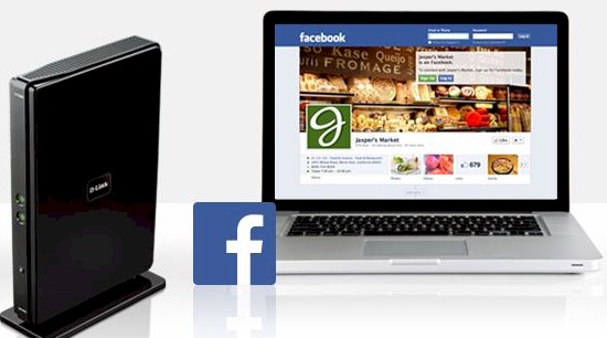 D-Link Facebook Wi-Fi Router