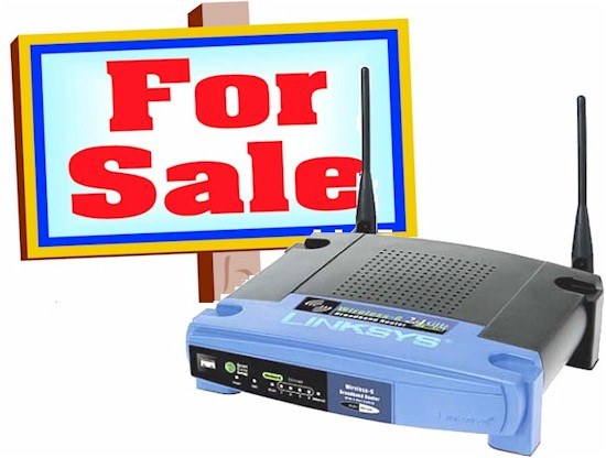 Linksys for sale