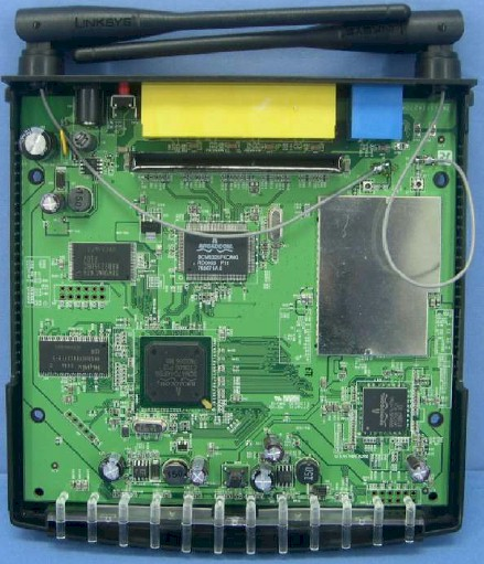 Linksys WRT150Nv11 board