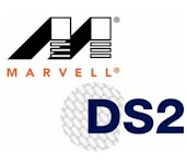 Marvell and DS2 logos