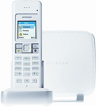 Netgear SPH200D Cordless Phone with Skype