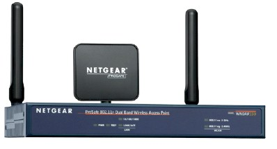 NETGEAR ProSafe 802.11n Dual Band Wireless Access Point (WNDAP330)