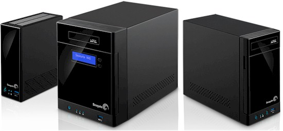 Seagate Business Storage NASes