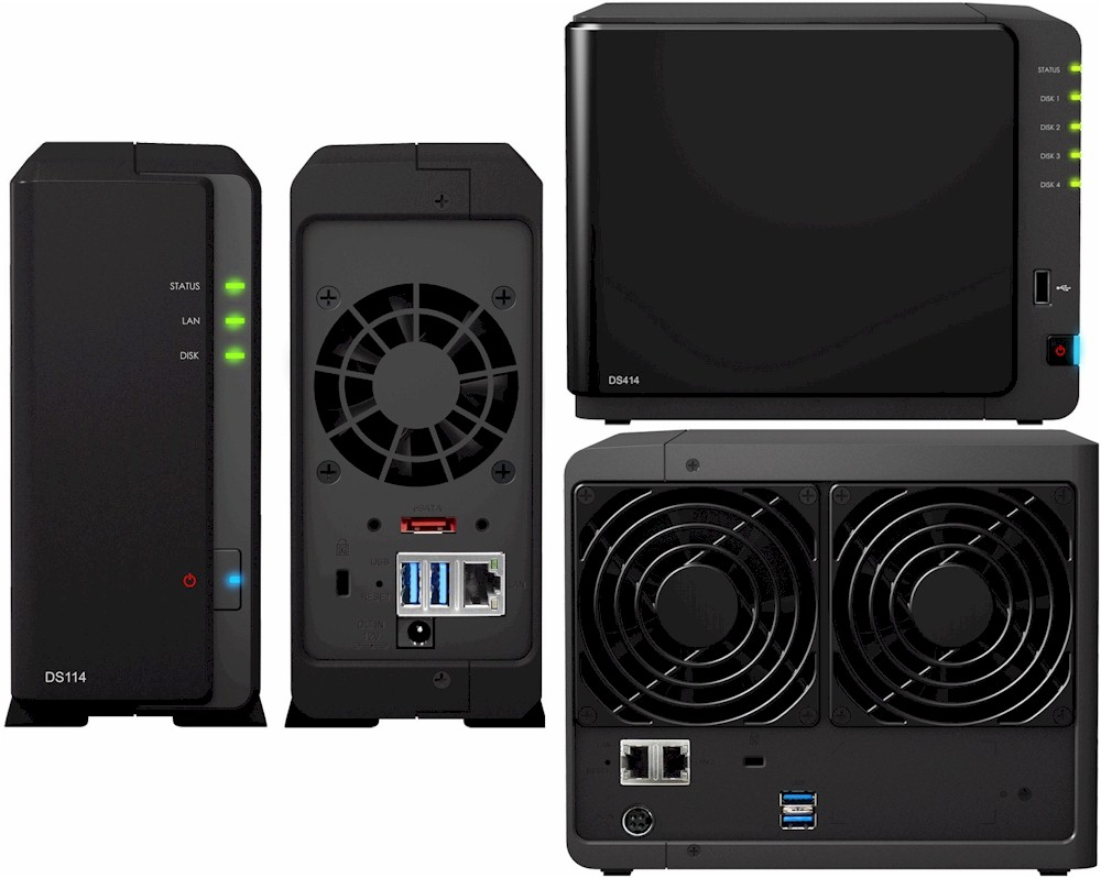 Synology DS114 & DS414