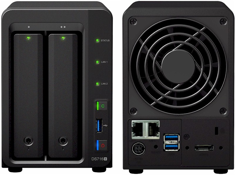 Synology Adds Two-Bay Expandable NAS - SmallNetBuilder