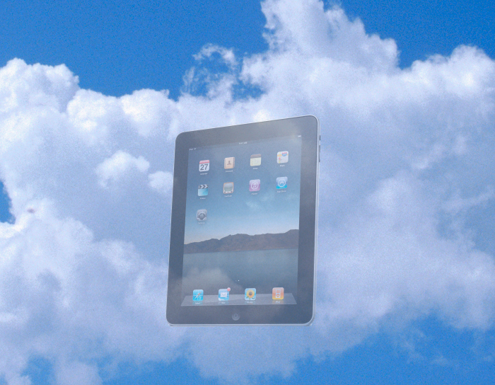 Cloud iPad
