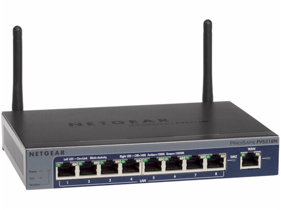 ProSafe Wireless-N 8-port Gigabit VPN Firewall