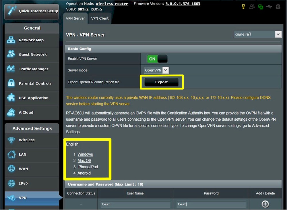 Setting Up And Using OpenVPN On ASUS Routers - SmallNetBuilder