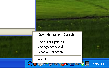 Open management console