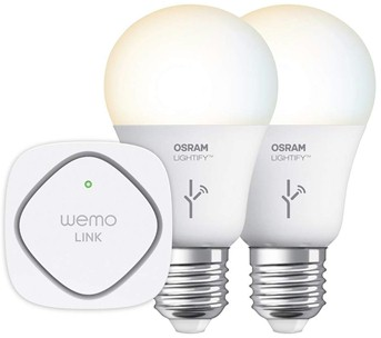 WeMo + OSRAM Lightify White Tunable Starter Set