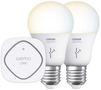 WeMo + OSRAM Lightify White Tunable Starter Set