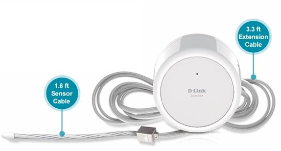 D-Link DCH-S160 with extension cable