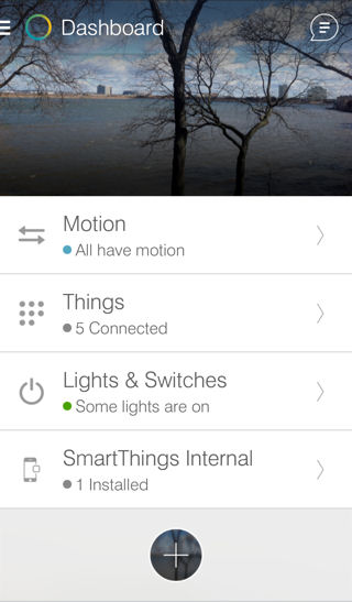 SmartThings Dashboard