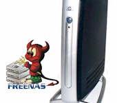 How To Build a SqueezeCenter Server with FreeNAS and a T5700