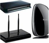 Three 3 stream routers