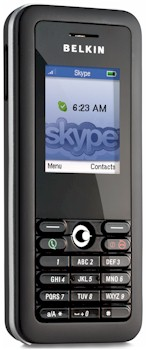 Belkin's Wi-Fi Phone for Skype Breaks Out of the Pack